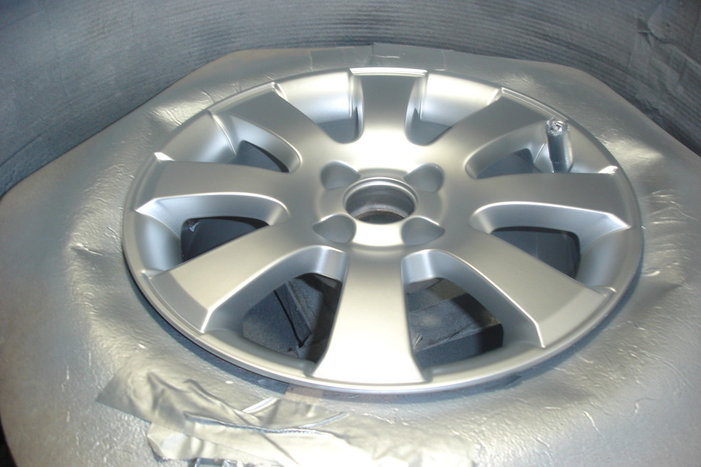 Alloy paint applied